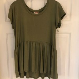 Mossimo Supply Co. Tops - Army green T-shirt
